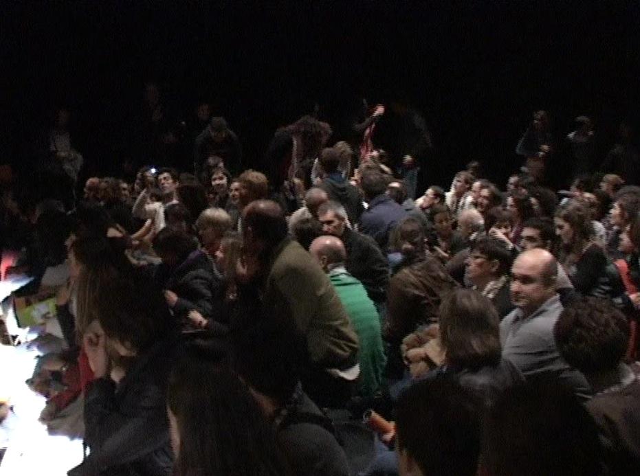 Público en el Escenario